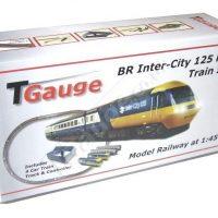 T Gauge BR Inter-City 125 HST Starter Set w-132.5mm Loop Track R-042-125