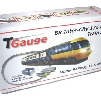 T Gauge BR Inter-City 125 HST Starter Set w-132.5mm Loop Track R-042-125