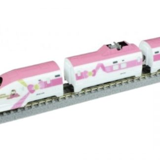 Rokuhan ST008-2 500 Type Hello Kitty Shinkansen Z Shorty Passenger Car Set