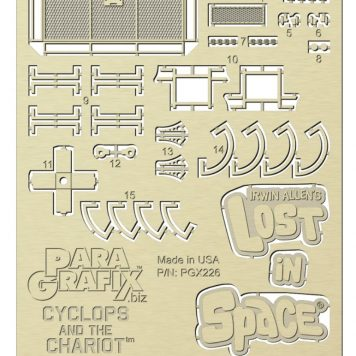 Paragrafix Lost In Space Chariot Photoetch Set 1/48 Scale PGX226