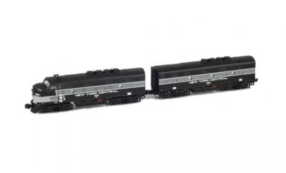 AZL New York Central 62900-1 #1606-2406 Locomotive F3 A-B Set