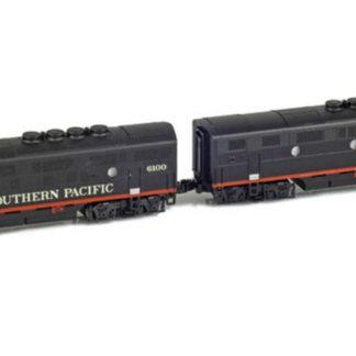 AZL Southern Pacific 62901-1 #6100-6100B Locomotive F3 A-B Set