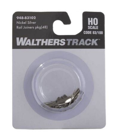 Nickel Silver Rail Joiners pack of 48