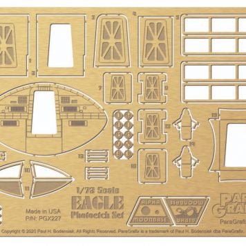 1/72 scale Eagle Photoetch Set