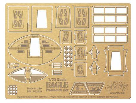 1/72 scale Eagle Photoetch Set