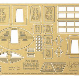 Paragrafix Space: 1999 1/72 Scale Eagle Photoetch Set PGX227
