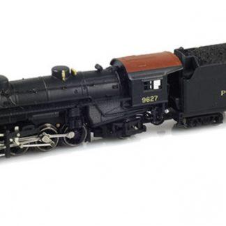 AZL PRR Mikado 50006-1 #9627 Locomotive (Light)