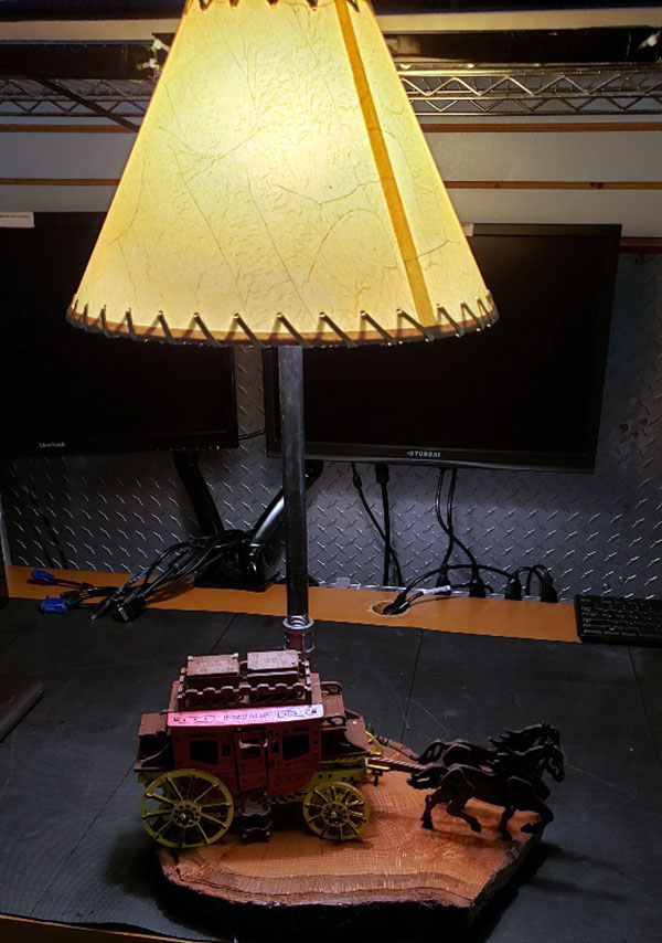 Stage Coach Lamp