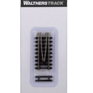 Walthers HO Scale Code 83 Nickel Silver Bridge Track End Piece Set 83005
