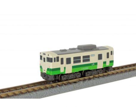 Rokuhan West Japan Railway Company Shorty KIHA40 Tohoku Area Headquarters Color ST009-3