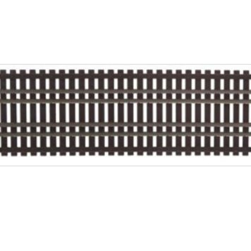 Walthers Nickel Silver Bridge Track Set HO Scale Code 83, 36 Inches (.9m) 83004