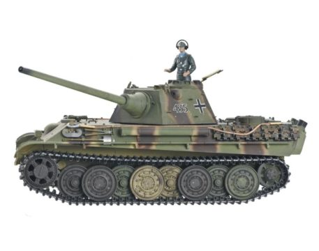Taigen Tanks 1/16 Panther Ausf F Metal Infrared Edition 13095 Back