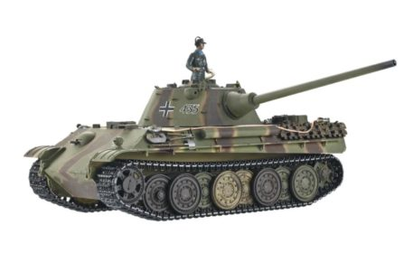 Taigen Tanks 1/16 Panther Ausf F Metal Infrared Edition 13095 Side