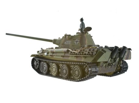 Taigen Tanks 1/16 Panther Ausf F Metal Infrared Edition 13095 Back Side
