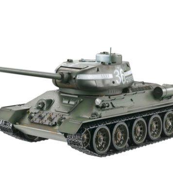 Taigen Tanks 1/16 Russian T-34/85 Green Metal Edition Infrared 13031