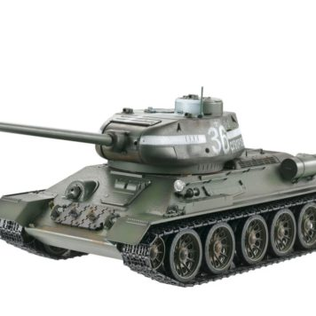 Taigen Tanks 1/16 Russian T-34/85 Green Metal Edition Airsoft 13030