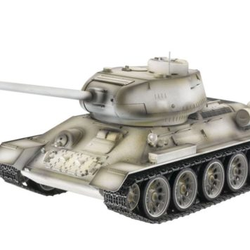 Taigen Tanks 1/16 Russian T-34/85 White Metal Edition Airsoft 13032