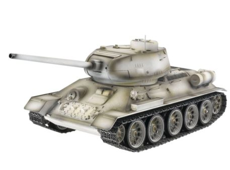 Taigen Tanks 1/16 Russian T-34/85 White Metal Edition Infrared 13033