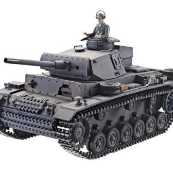Taigen Tanks 1/16 Panzer III Metal Airsoft Edition 12082