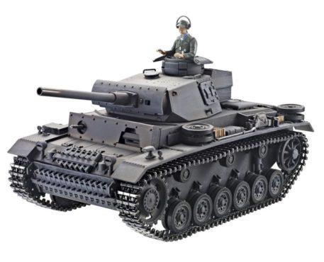 Taigen Tanks 1/16 Panzer III Metal Infrared Edition 12083