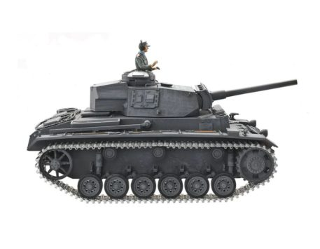 Taigen Tanks 1/16 Panzer III Metal Infrared Edition 12083 Side