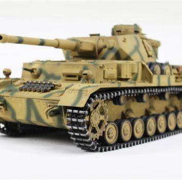 Taigen Tanks 1/16 Panzer IV Ausf G Metal Camo Infrared Edition 12094
