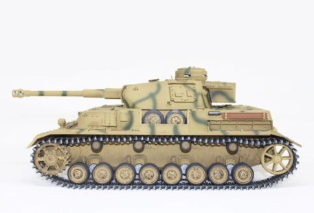 Taigen Tanks 1/16 Panzer IV Ausf G Metal Camo Infrared Edition Side 12094