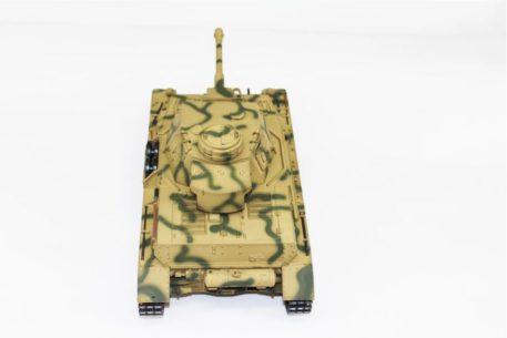 Taigen Tanks 1/16 Panzer IV Ausf G Metal Camo Infrared Edition Top 12094