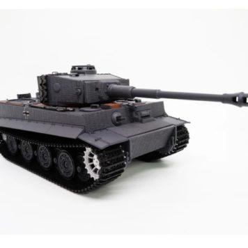 Taigen Tanks Tiger 1 Late Version Plastic Edition Flat Grey