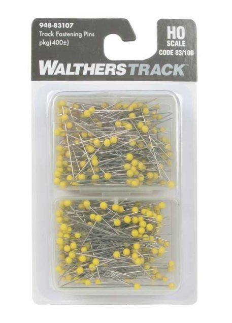 Walthers HO Scale Code 83 Track Fastening Pins 83107