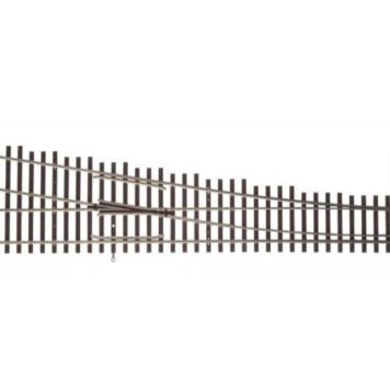 Walthers HO Scale Nickel Silver Number 10 Turnout Track, RH, Code 83, DCC Friendly 83022