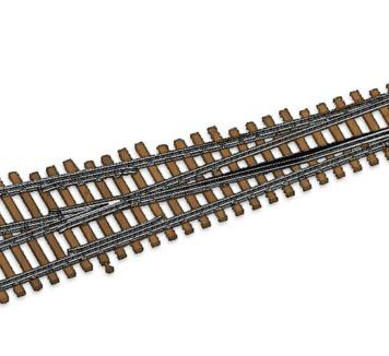 Walthers HO Scale Nickel Silver Number 4 Turnout Track, RH, Code 83, DCC Friendly 83014