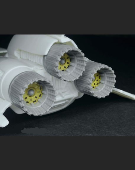 Green Strawberry 1/32 Colonial Viper Mk II Nozzles for MOE Battlestar Galactica (Photo-Etch & Resin) Back