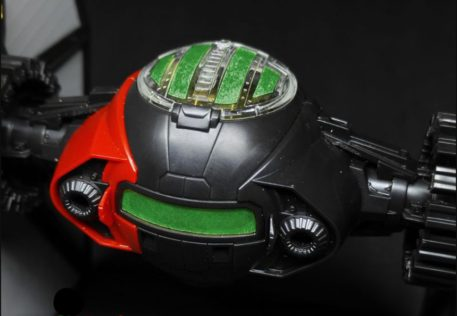 Green Strawberry 1/72 Star Wars First Order Special Forces Tie Starfighter Mask for BANDAI Top View