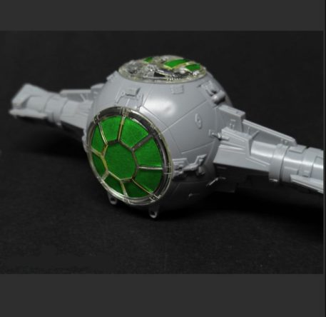 Green Strawberry 1/72 Star Wars Tie Starfighter Painting Mask for BANDAI Built