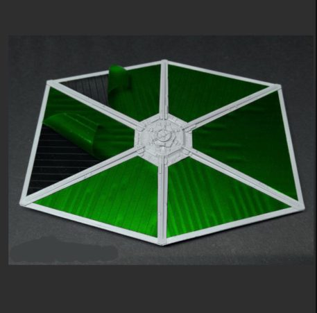 Green Strawberry 1/72 Star Wars Tie Starfighter Painting Mask for BANDAI Layout