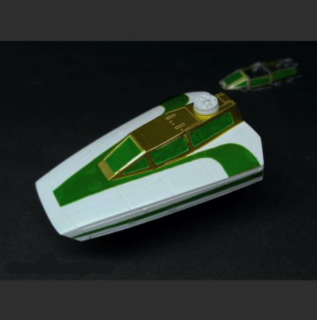 Green Strawberry 1/72 Star Wars Y-Wing Starfighter Mask for BANDAI Built