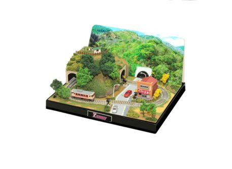 Rokuhan Z Shorty Scenery Set for Tunnel Mini-Layout SS002-2
