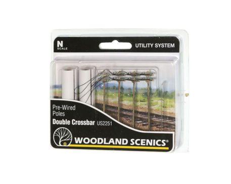 Woodland Scenics Double Crossbar US2251