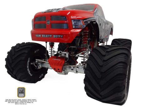 Primal RC 1/5 Scale Raminator Monster Truck RTR Side