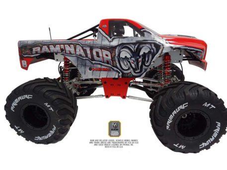 Primal RC 1/5 Scale Raminator Monster Truck RTR Raminator Side