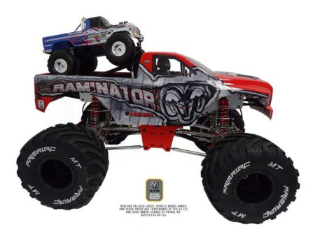 Primal RC 1/5 Scale Raminator Monster Truck RTR On top mini