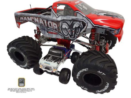 Primal RC 1/5 Scale Raminator Monster Truck RTR On top