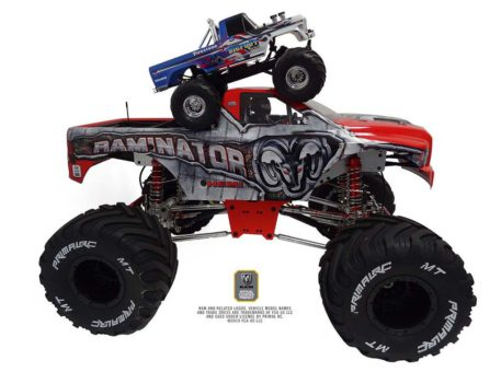 Primal RC 1/5 Scale Raminator Monster Truck RTR Height