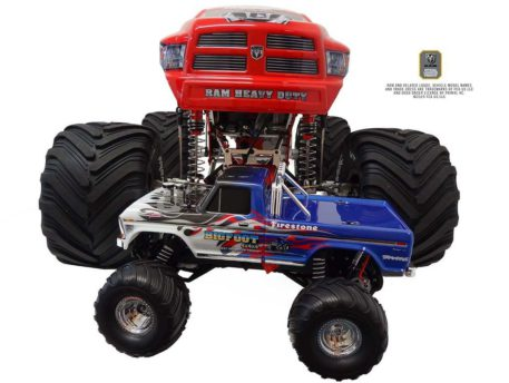 Primal RC 1/5 Scale Raminator Monster Truck RTR Front Height