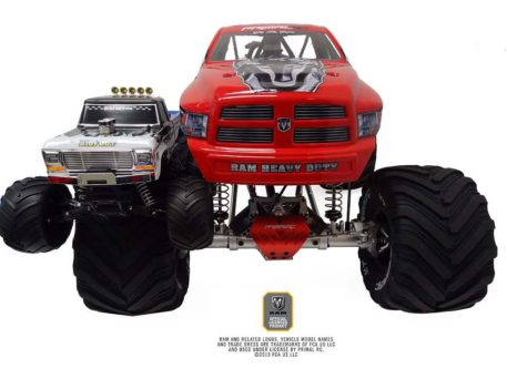 Primal RC 1/5 Scale Raminator Monster Truck RTR Front Comparison