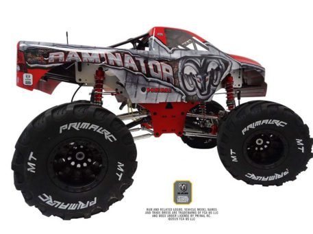 Primal RC 1/5 Scale Raminator Monster Truck RTR Side View