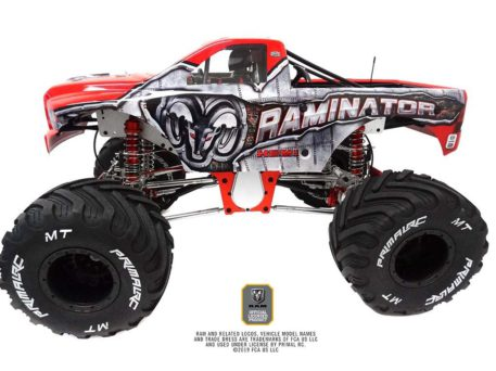 Primal RC 1/5 Scale Raminator Monster Truck RTR Raminator Front Top Side View