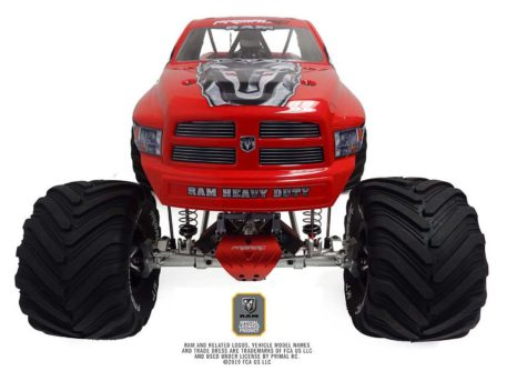 Primal RC 1/5 Scale Raminator Monster Truck RTR Raminator Front Top Side Front