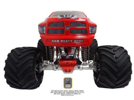 Primal RC 1/5 Scale Raminator Monster Truck RTR Raminator Front Top View